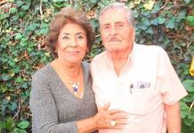 Leandro Serna Iracheta y Amparo Camacho Mares festejan 65 años de matrimonio