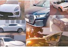 Muestra Loret el Porsche, BMW y hasta ambulancias de El Marro