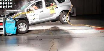 Duster: aprueba en la protección pero no en estabilidad (VIDEO)