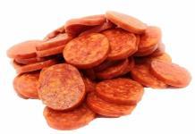 ¿De qué está hecho el pepperoni?