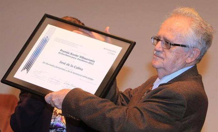José de la Colina será homenajeado en Bellas Artes