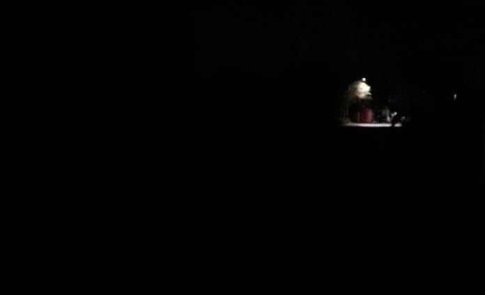 Acceso a Clínica 50, en total oscuridad