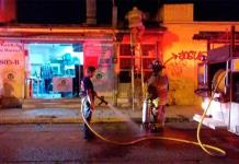 Por poco se incendia tortillería en Alamitos