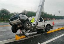 Joven mujer muere tras accidente en la carretera a Rioverde