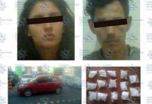 Atrapan a pareja con droga sintética