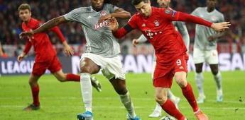 Bayern Múnich derrota a Olympiacos y clasifica