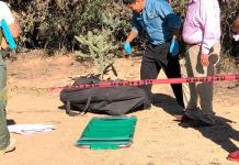 En maleta, dejan cuerpo de mujer asesinada