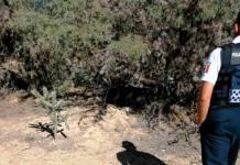 Hallan cuerpo de una mujer en una maleta en la comunidad de Santa Rita
