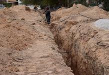 Introducirán red de drenaje en la Bustamante