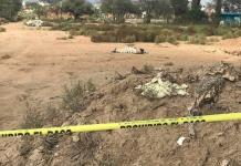 Encuentran cadáver encobijado en un predio baldío y una cabeza semidevorada
