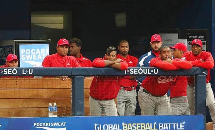 Cuba naufraga en el preolímpico de beisbol