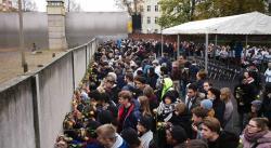 Alemania conmemora los 30 años de la caída del Muro de Berlín (FOTOS)