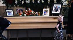 Despiden a la última víctima de masacre en México