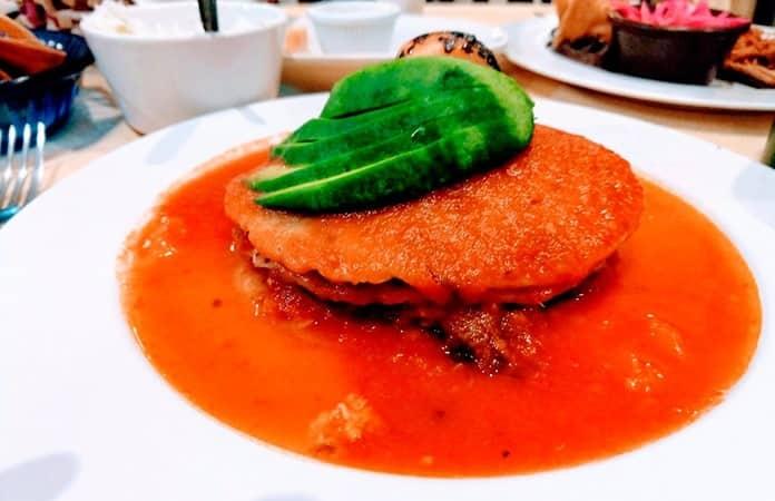 Pan de cazón de Campeche