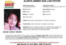 Activan Alerta Amber por el robo de una niña de 6 años de edad