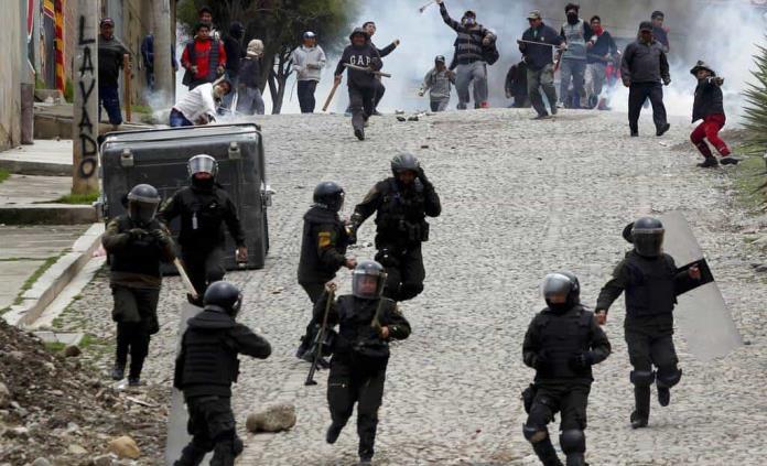 Resultado de imagen para imagenes golpe de estado bolivia