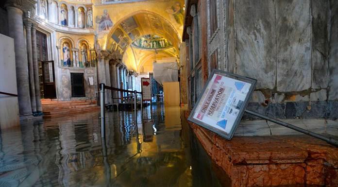 Así ha quedado el patrimonio cultural de Venecia tras las inundaciones'>