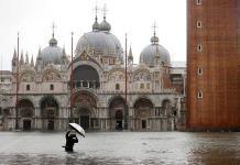 El hundimiento y el aumento del nivel del mar amenazan a la histórica Venecia
