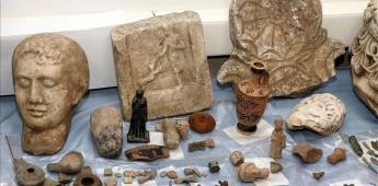 Italia desarticula una red de tráfico de antigüedades