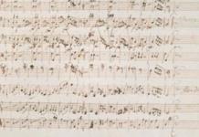 Una partitura original de Mozart vendida en París por 372.500 euros