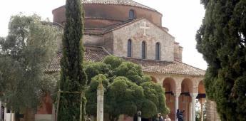 Basílica antigua en Venecia resulta dañada por inundaciones
