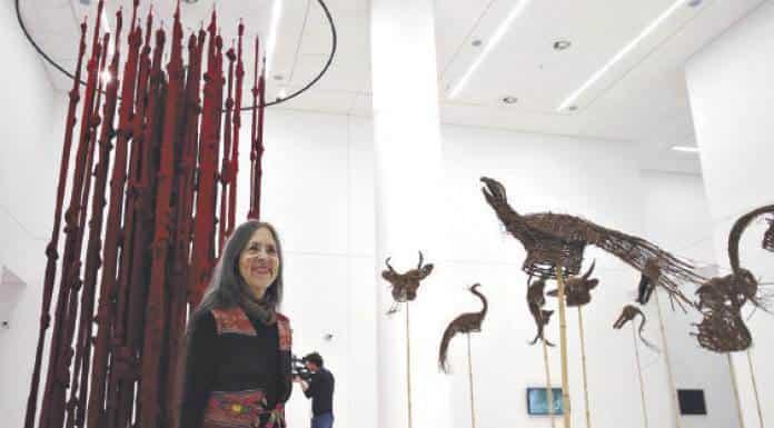 Cecilia Vicuña, gana premio Velázquez de Artes Plásticas 2019'>
