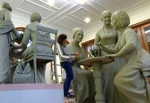 La escultora Meredith Bergmann crea la primera estatua de mujeres para el Central Park de NY