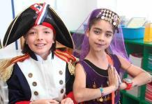 Niños conocen tradiciones de varios países