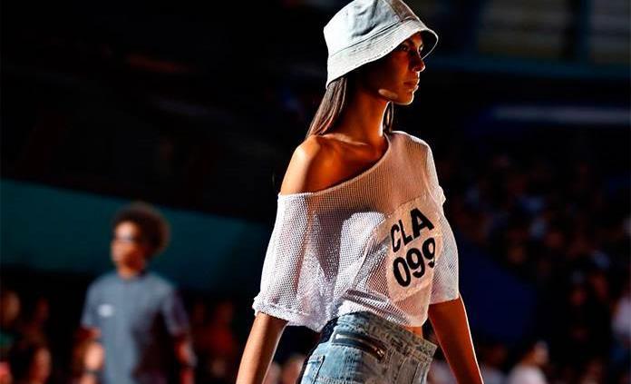 Clandestina, una marca privada cubana llena estadio con colección de moda
