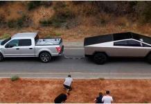 VIDEO: Elon Musk muestra la potencia de su Cybertruck contra la icónica Ford F-150