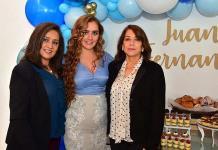 Diana Favela de Sarquis espera la llegada de su bebé