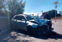 Aparatoso accidente en el bulevar del Río Santiago