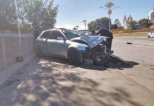 Choca auto en el Río Santiago