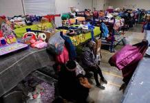 Maquila reconvertida en albergue refleja crisis migratoria en Ciudad Juárez