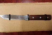 Menor es arrestado por cargar cuchillo