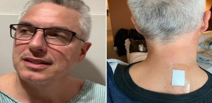 Hospitalizan al actor John Barrowman por lesión en el cuello