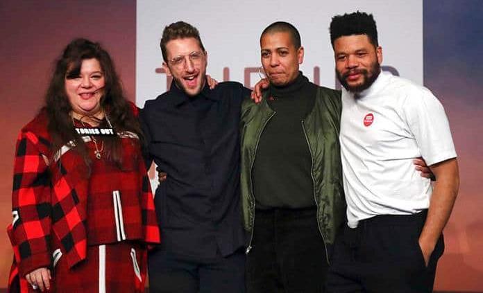 Los cuatro nominados ganan el premio Turner para llamar a la unidad en tiempos de crisis