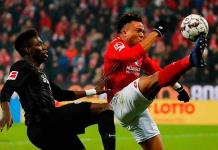 Mainz se impuso al Fráncfort 2-1