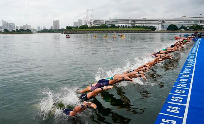 Nadadores piden sacar de Tokio las pruebas de aguas abiertas