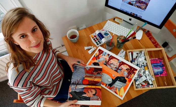 La ilustradora Luisa Rivera honra de nuevo a García Márquez