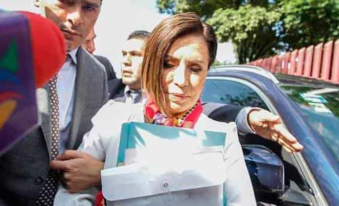 Rosario Robles acepta declararse culpable