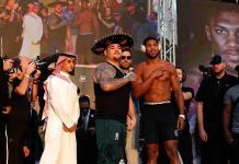 El sportswashing rodea la pelea Ruiz - Joshua en Arabia Saudí