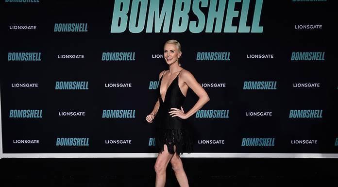 """Charlize Theron salva """"Bombshell""""'>"""