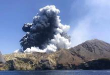 Sube a 18 cifra de muertos por erupción volcánica en Nueva Zelanda