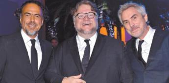¿Qué proyectos ocupan a Del Toro, González Iñárritu y a Cuarón?