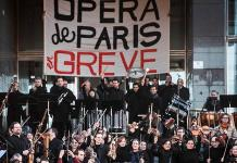 Ópera en París se mantiene en huelga