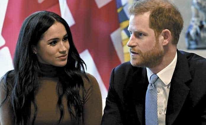 Enrique y Meghan se retiran de la familia real
