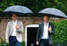 William y Harry desmienten una noticia sobre su mala relación