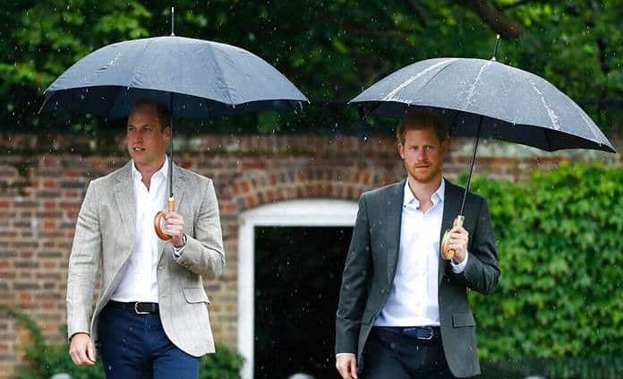 William y Harry desmienten una noticia sobre su mala relación