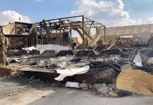 Soldados de EEUU retiran escombros de base tras ataque iraní